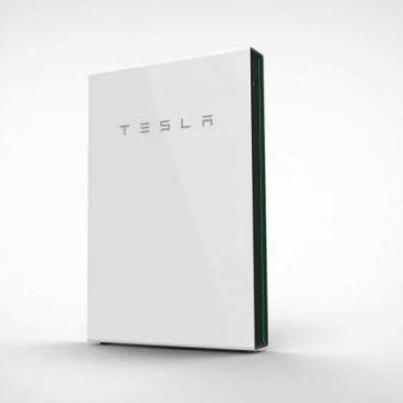 La batterie Tesla pour être autonome en électricité